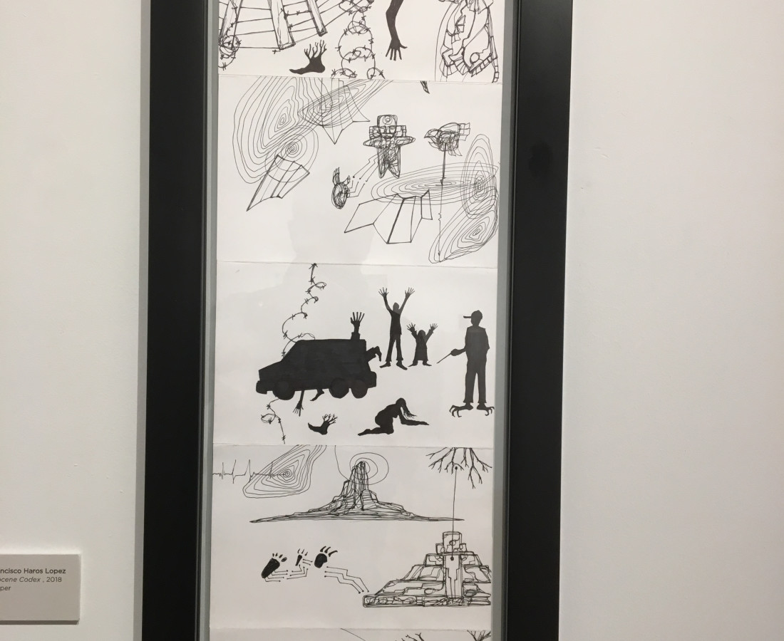 <span class=&#34;artist&#34;><strong>Israel Francisco Haros Lopez</strong></span>, <span class=&#34;title&#34;><em>Anthropocene Codex </em>, 2018</span>