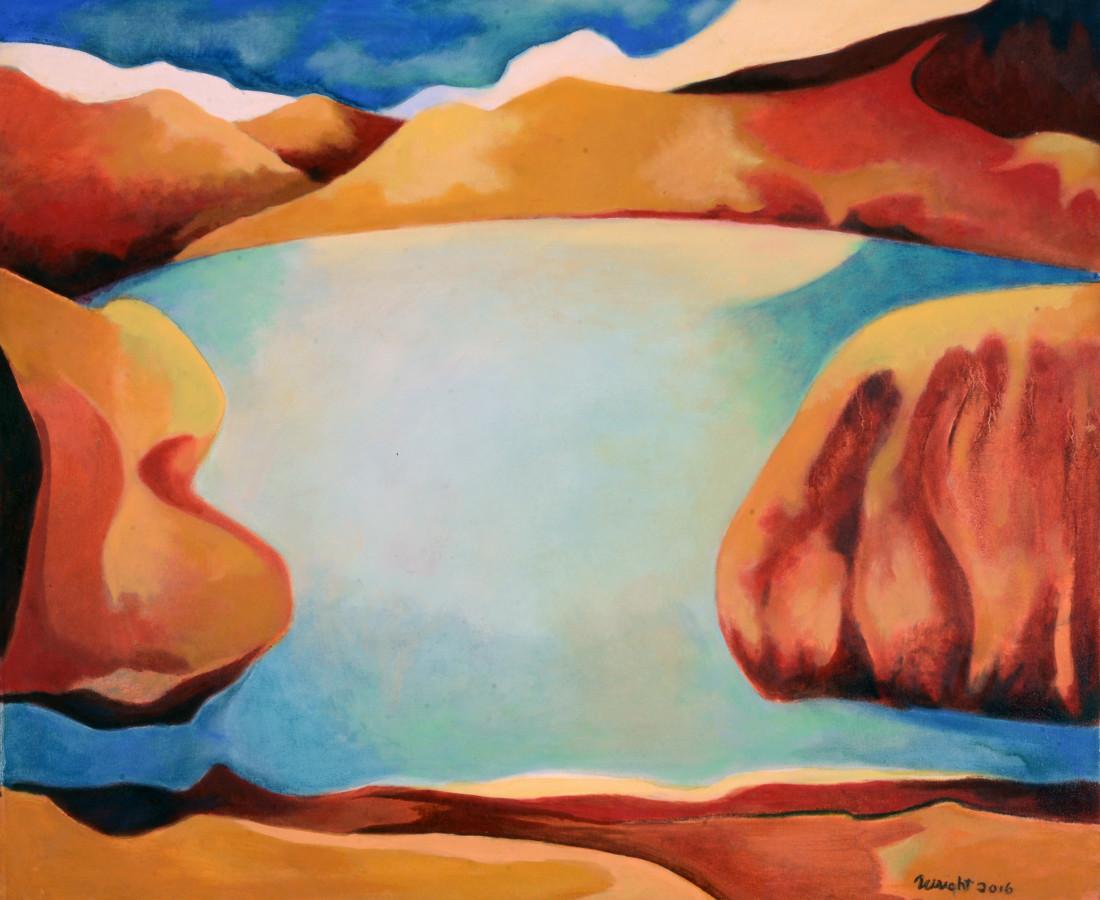 Michael Wright, Utah Lake, 2016