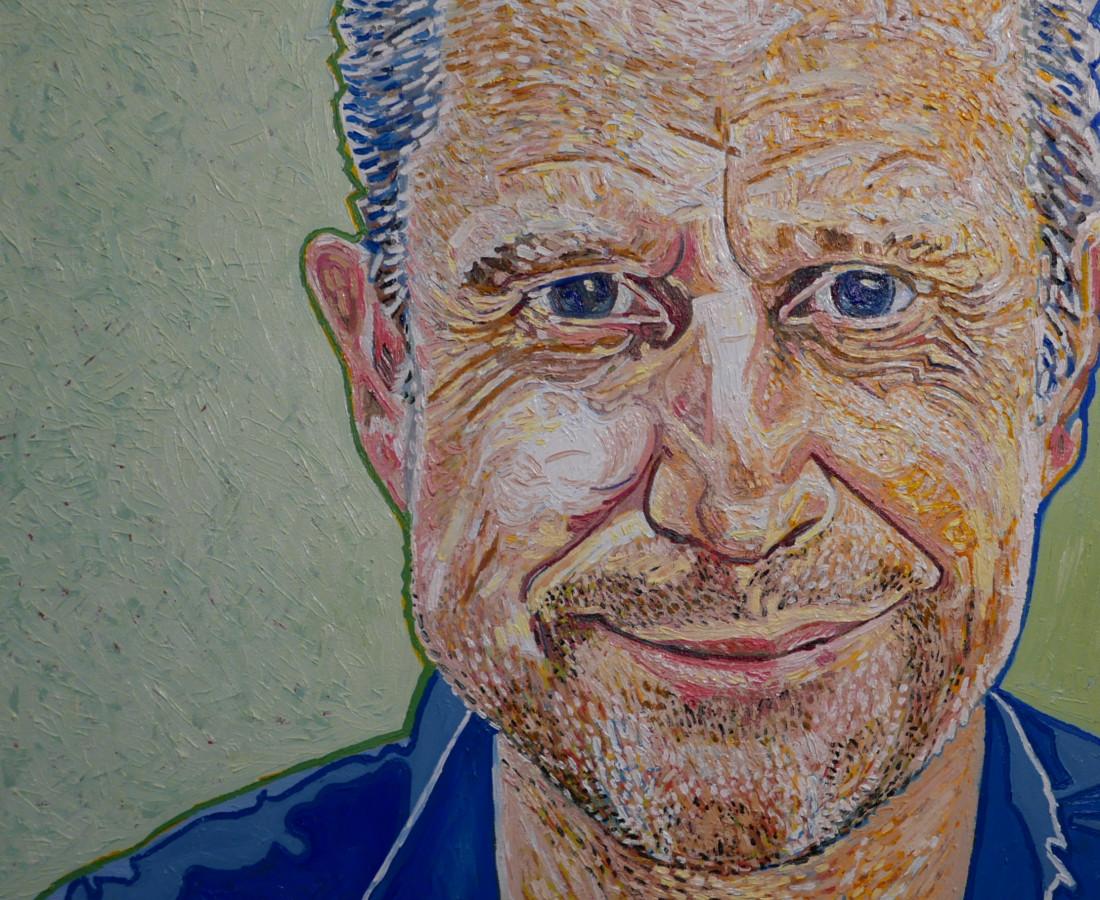 Phil Jerrod Jeremy, 2019 Oil on canvas 45 x 60 cm