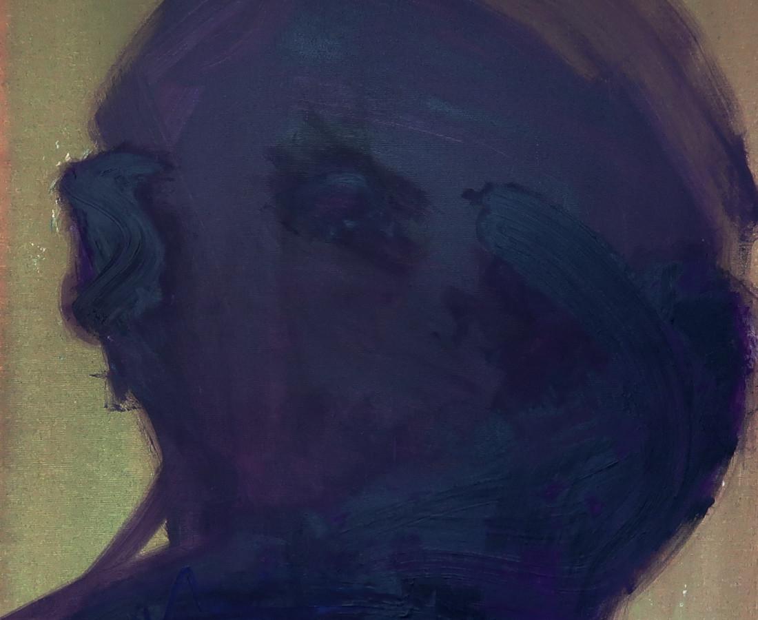 Dénes Maróti, Purple Portrait, 2019
