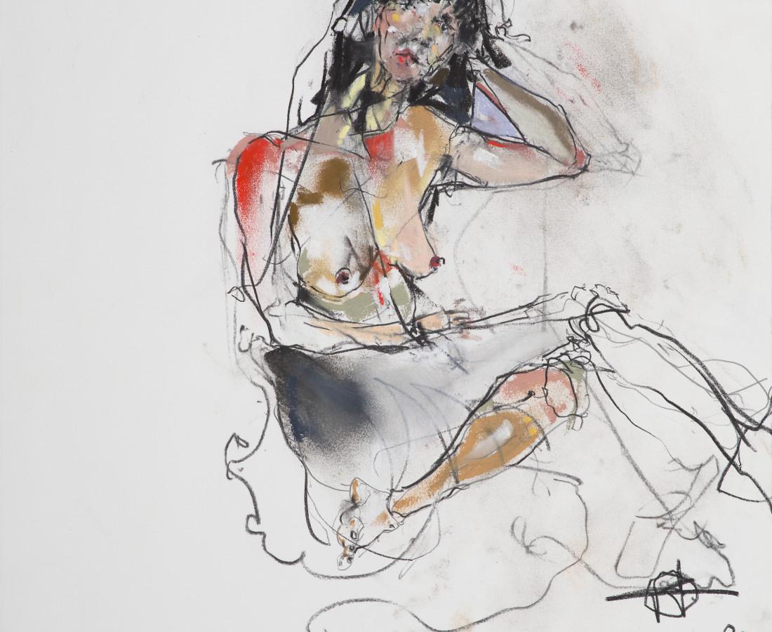 Kris Hargis, Sitting Woman (JF), 2020