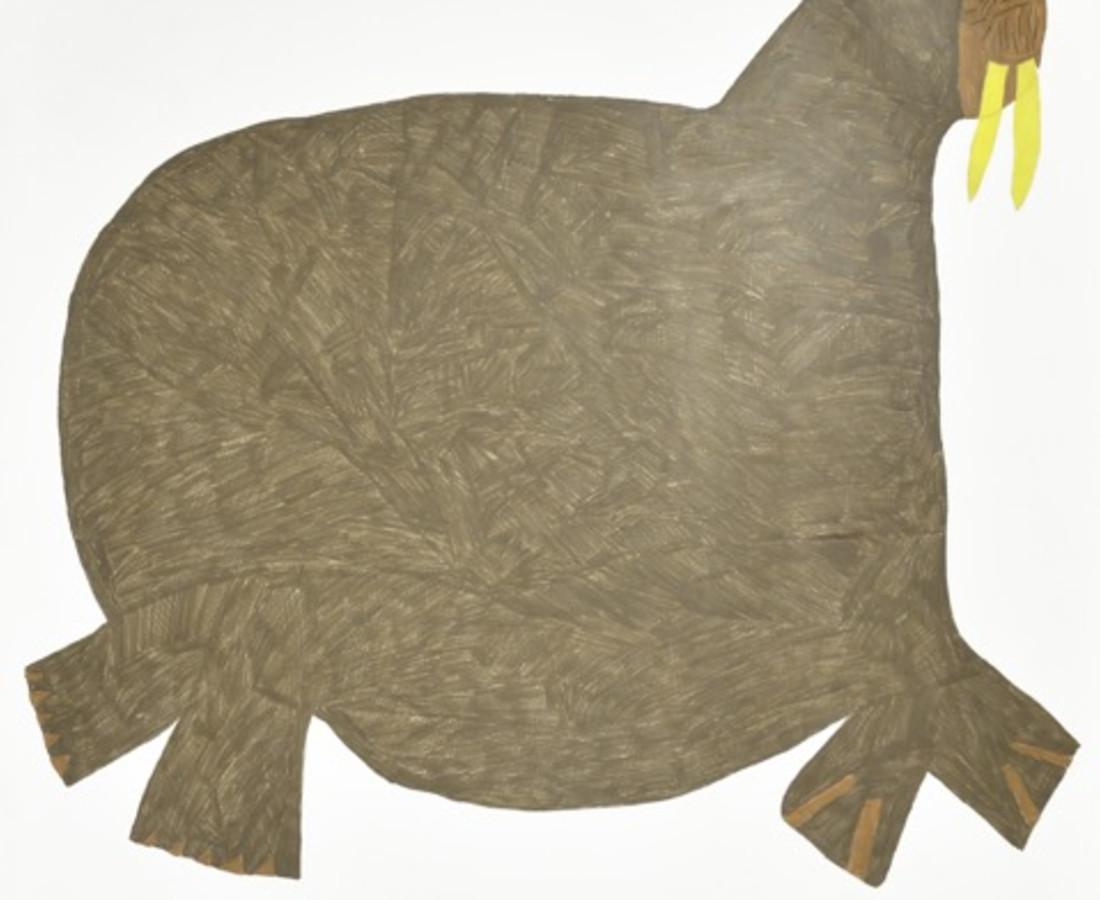 Saimaiyu Akesuk, Untitled (Walrus), 2013