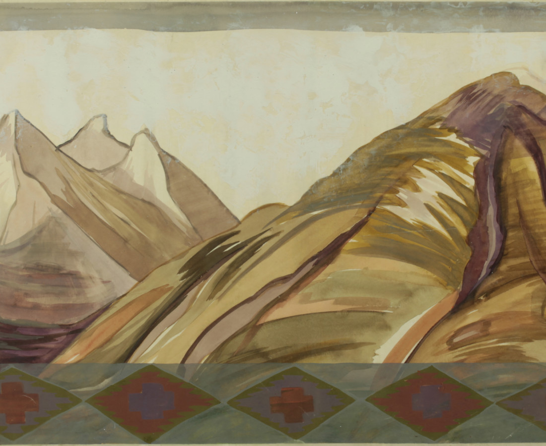 Kay WalkingStick, Bitterroot Mountains III, 2002