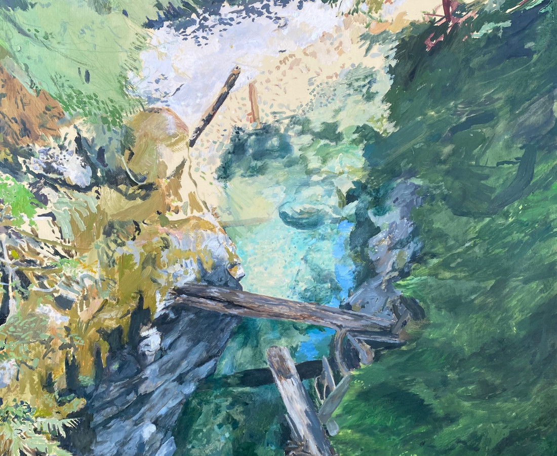 Holly Osborne, Opal Creek, 2019