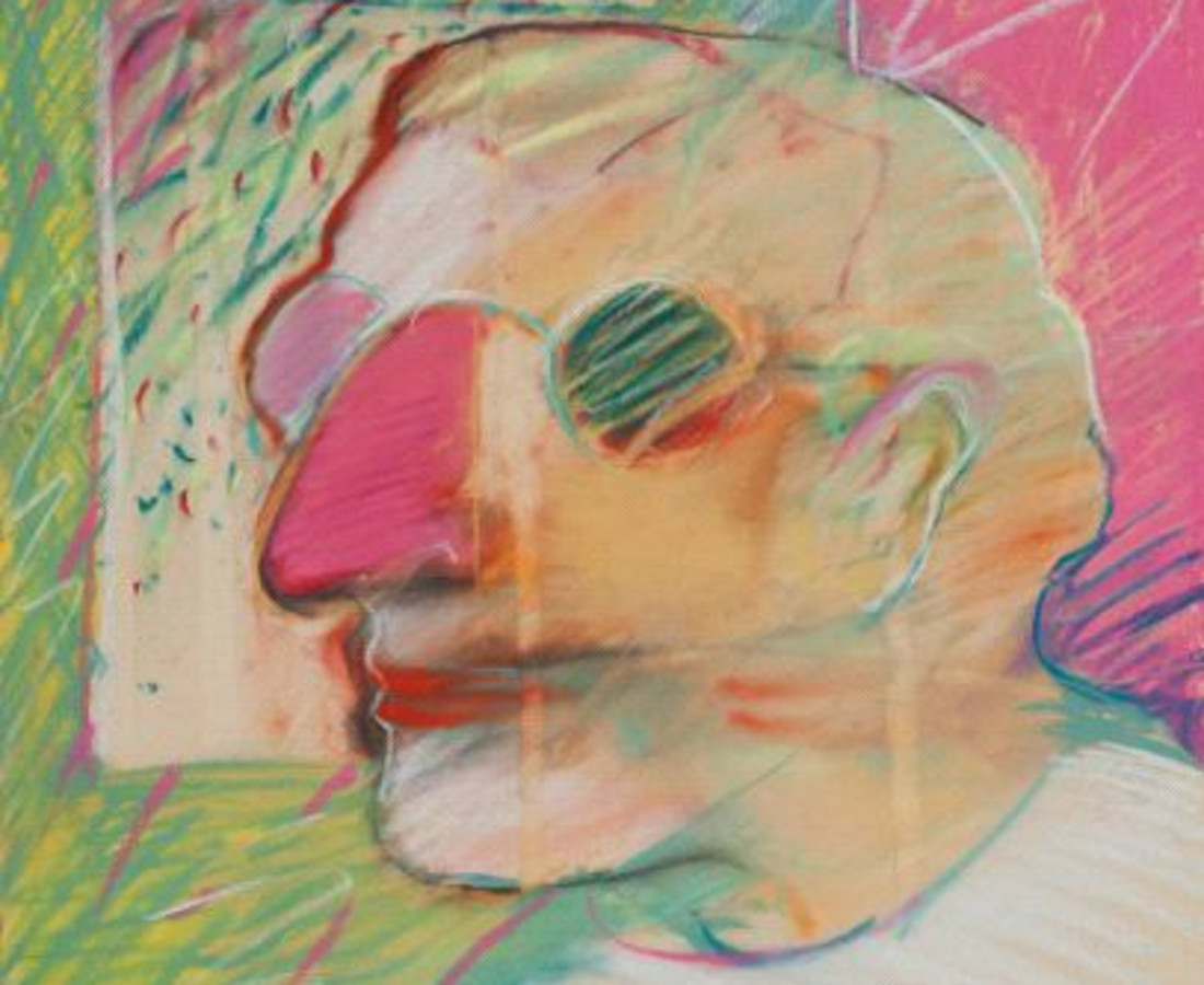 <span class=&#34;artist&#34;><strong>Rick Bartow</strong></span>, <span class=&#34;title&#34;><em>Self</em>, 1983</span>