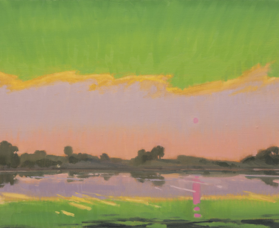 Gabriel Liston, Snake River at Milner Dam, Idaho, 2021
