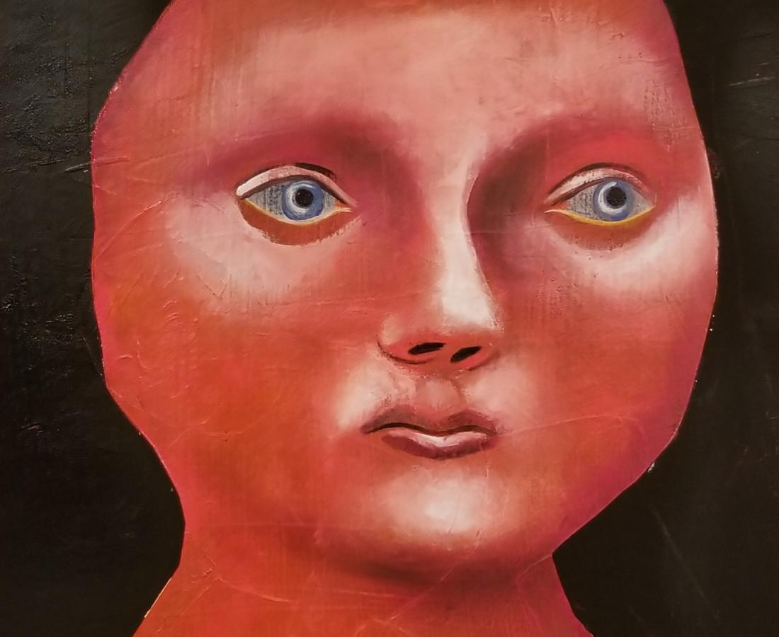 Matthew Dennison, The Red Woman, 2019