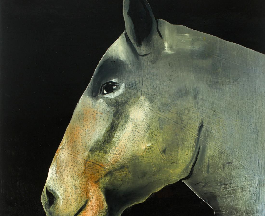 Matthew Dennison, Grey Horse, 2020