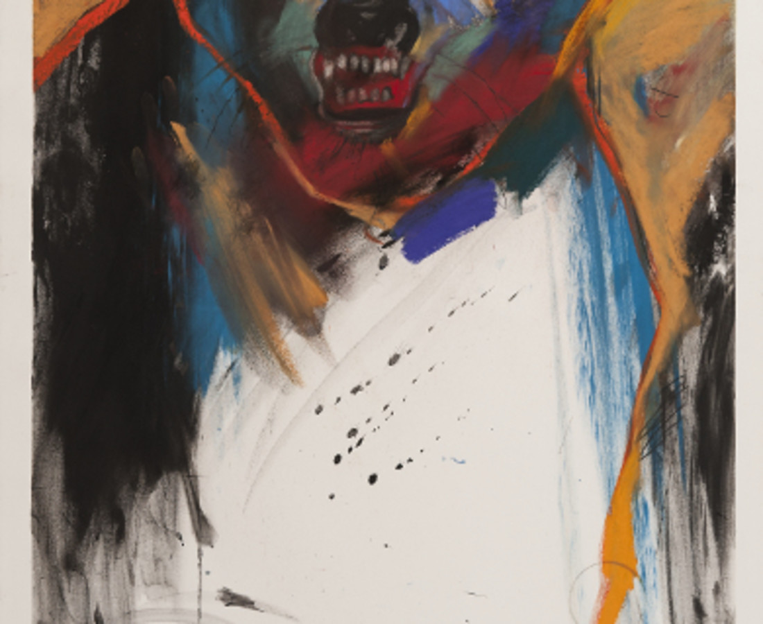 <span class=&#34;artist&#34;><strong>Rick Bartow</strong></span>, <span class=&#34;title&#34;><em>Guardian Angel</em>, 2002</span>