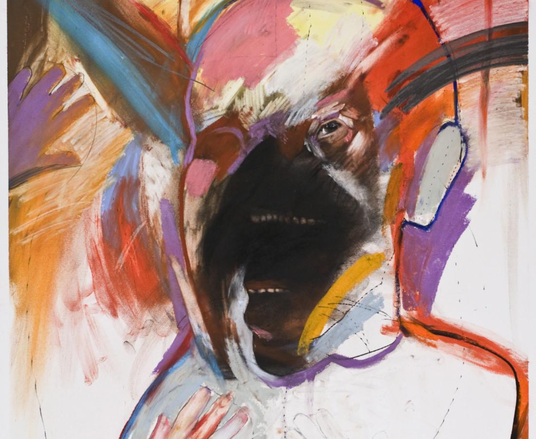 <span class=&#34;artist&#34;><strong>Rick Bartow</strong></span>, <span class=&#34;title&#34;><em>Regarding Rascals</em>, 2008</span>