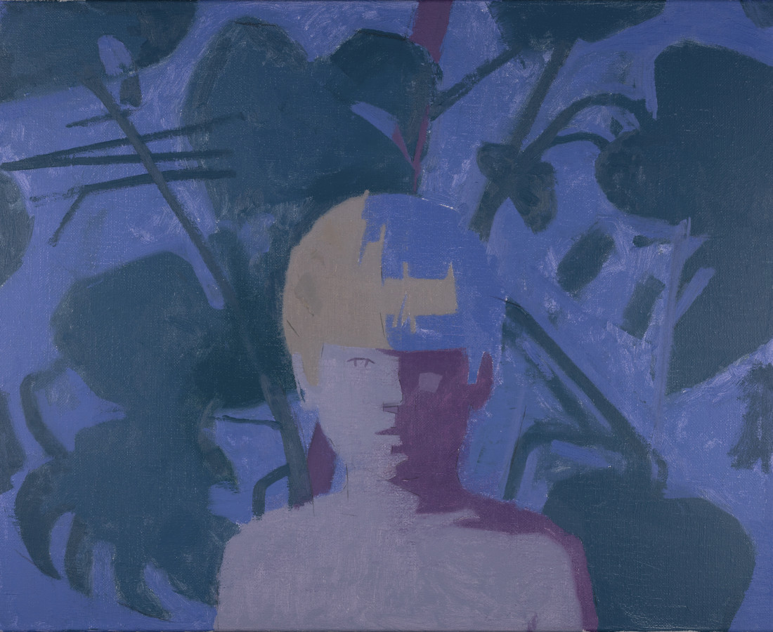 Benny Fountain, Boy with Plants, 2020