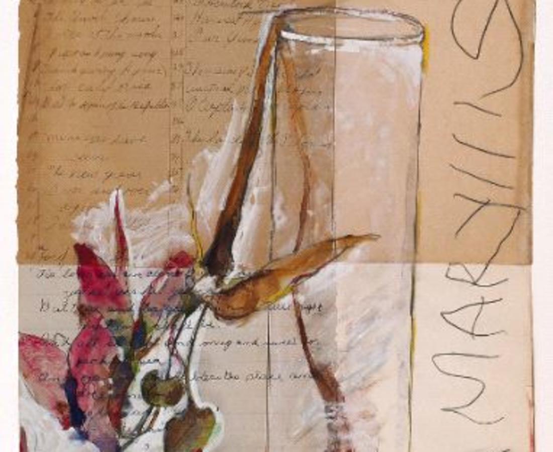Rick Bartow, Flower 100, 2000