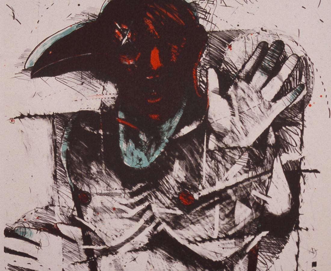Rick Bartow, Crow Dance, 1988