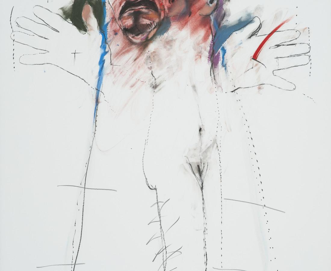 Rick Bartow, Raven Gift, 1999