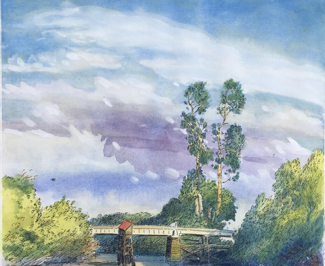 Gabriel Liston, The Bridge to the St. John's Landfill, 2020
