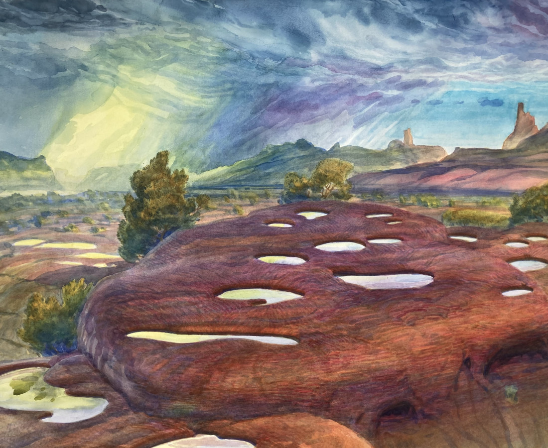Gabriel Liston, Potholes (Bears Ears), 2020