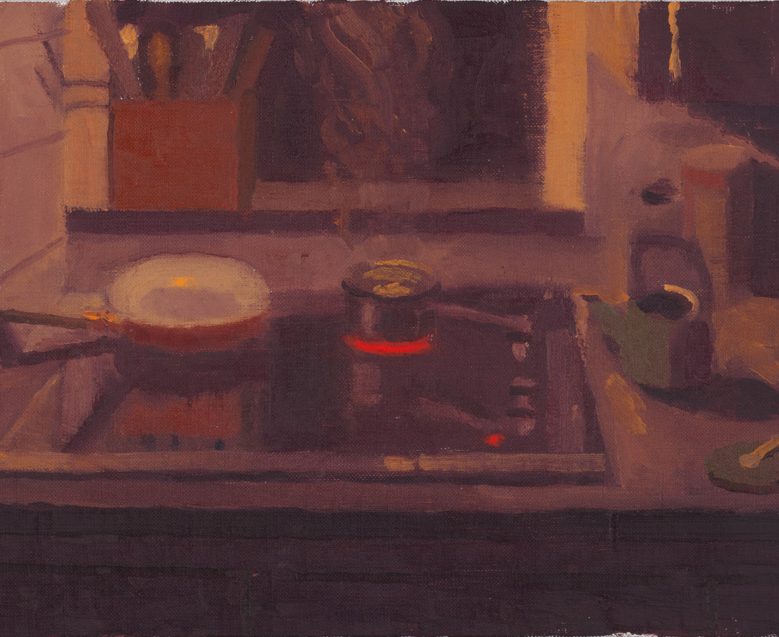 Benny Fountain, Midnight Tea (Heating Water), 2020