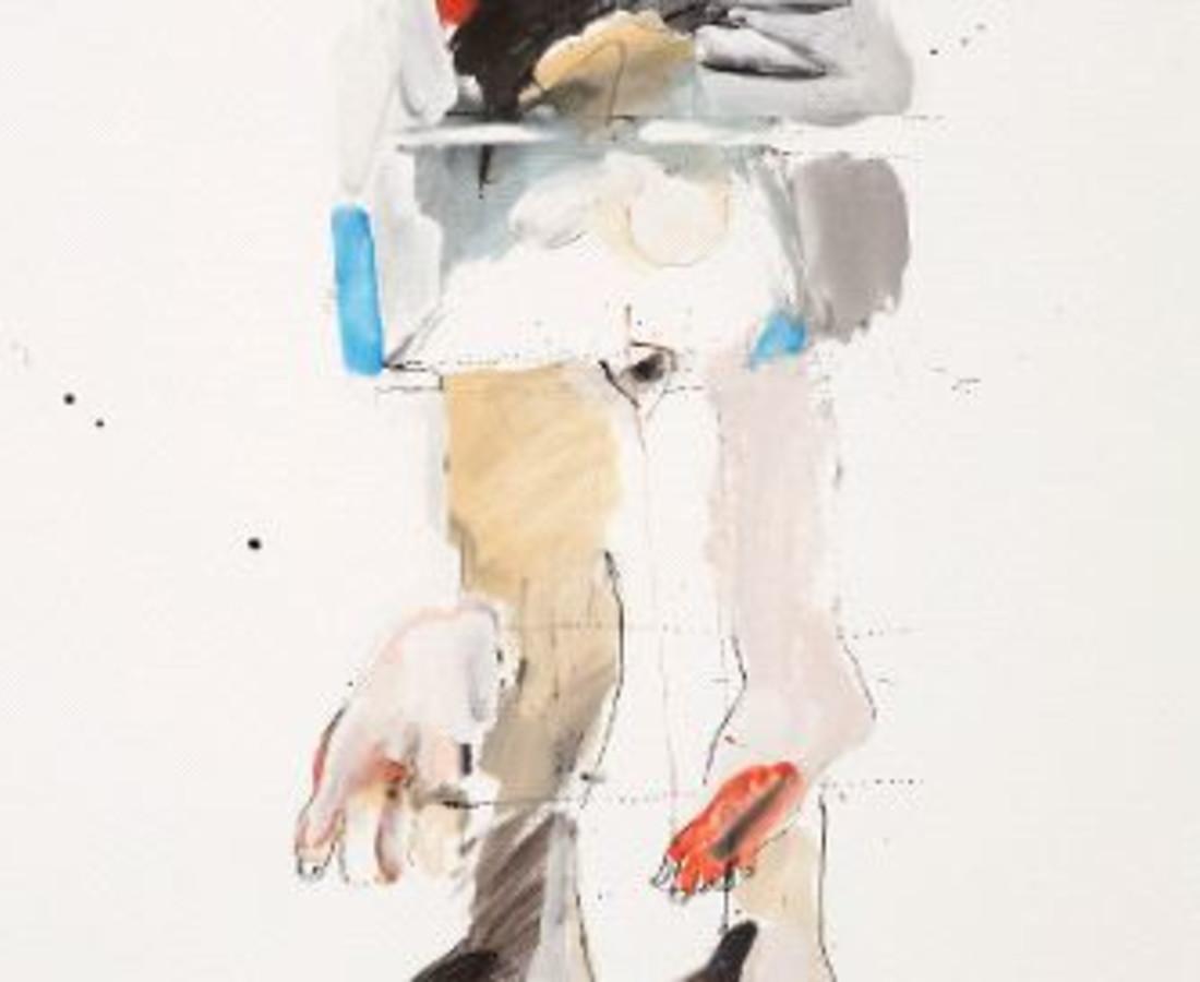 <span class=&#34;artist&#34;><strong>Rick Bartow</strong></span>, <span class=&#34;title&#34;><em>Upright</em>, 2015</span>