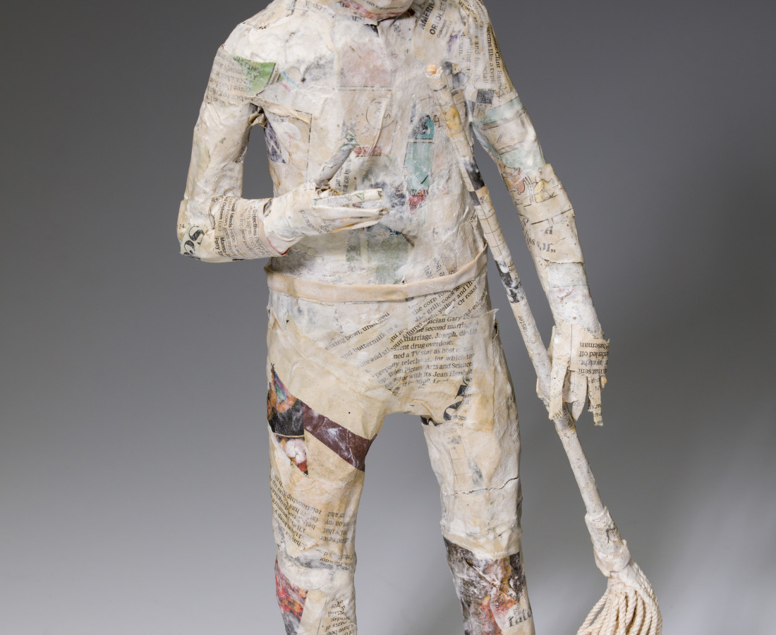 Tom Prochaska, Man with Mop, 2017