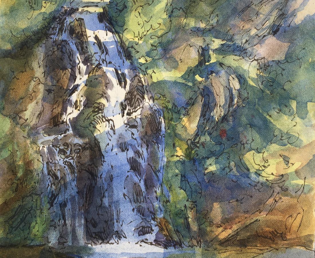 Gabriel Liston, Sahalie Falls, 2020