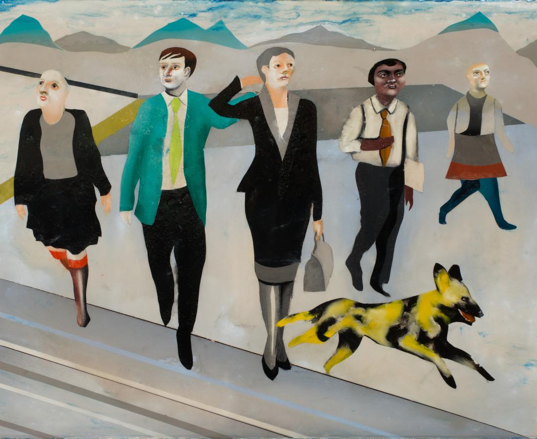 <span class=&#34;artist&#34;><strong>Matthew Dennison</strong></span>, <span class=&#34;title&#34;><em>Yellow Dog</em>, 2018</span>