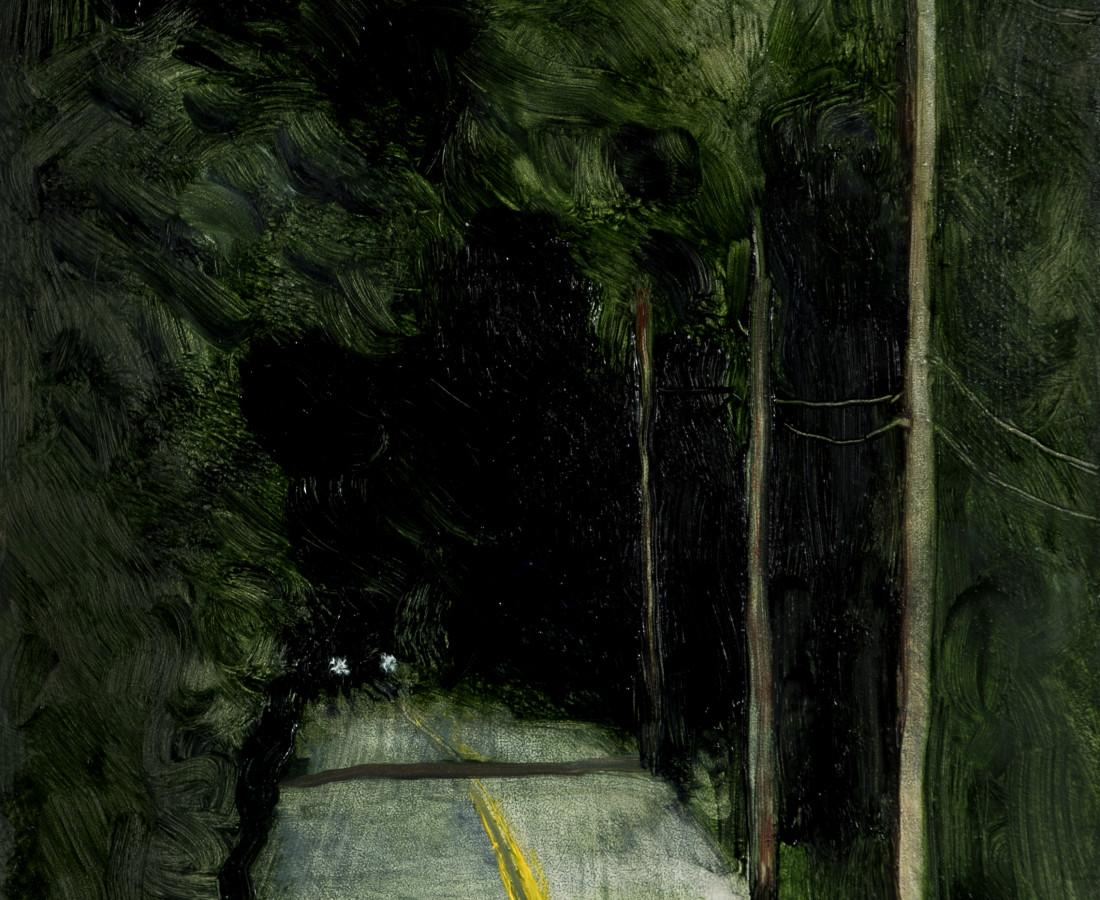 Suzy Murphy, The Green Darkness (Study), 2017