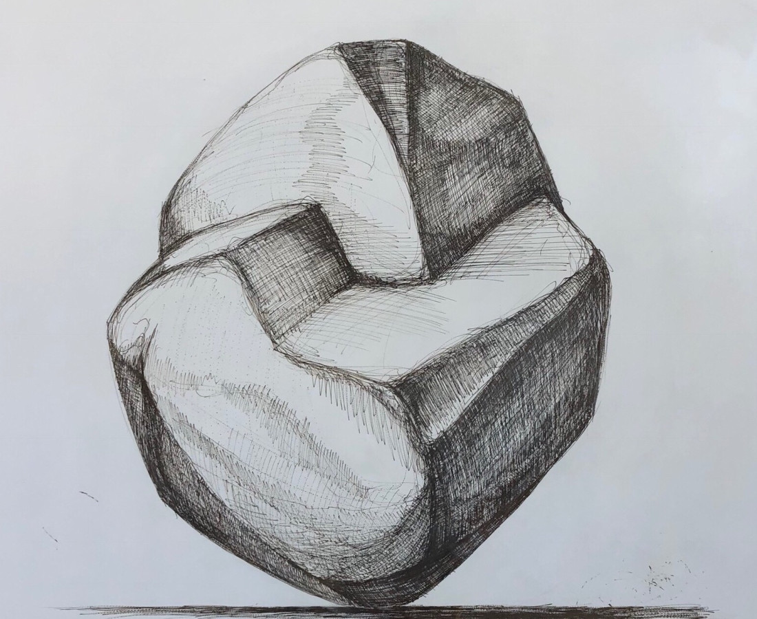 Hoss Haley, Erratic Drawing 1