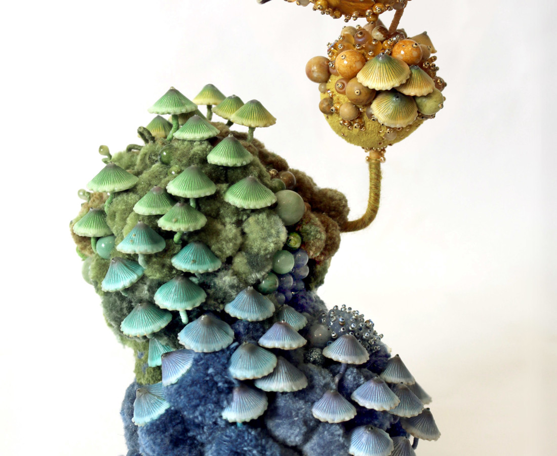<span class=&#34;artist&#34;><strong>Amy Gross</strong></span>, <span class=&#34;title&#34;><em>Mycena Biotope</em></span>