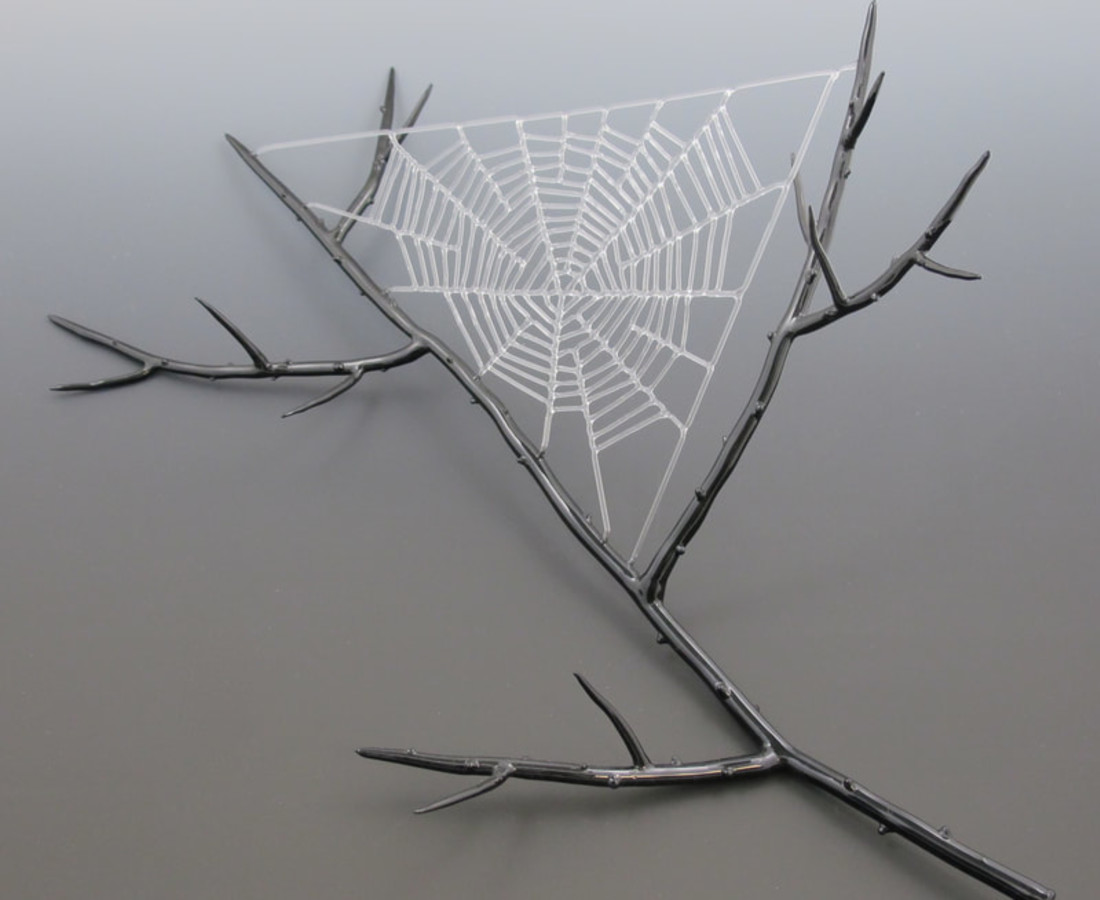 <span class=&#34;artist&#34;><strong>Kit Paulson</strong></span>, <span class=&#34;title&#34;><em>Spider Web</em></span>