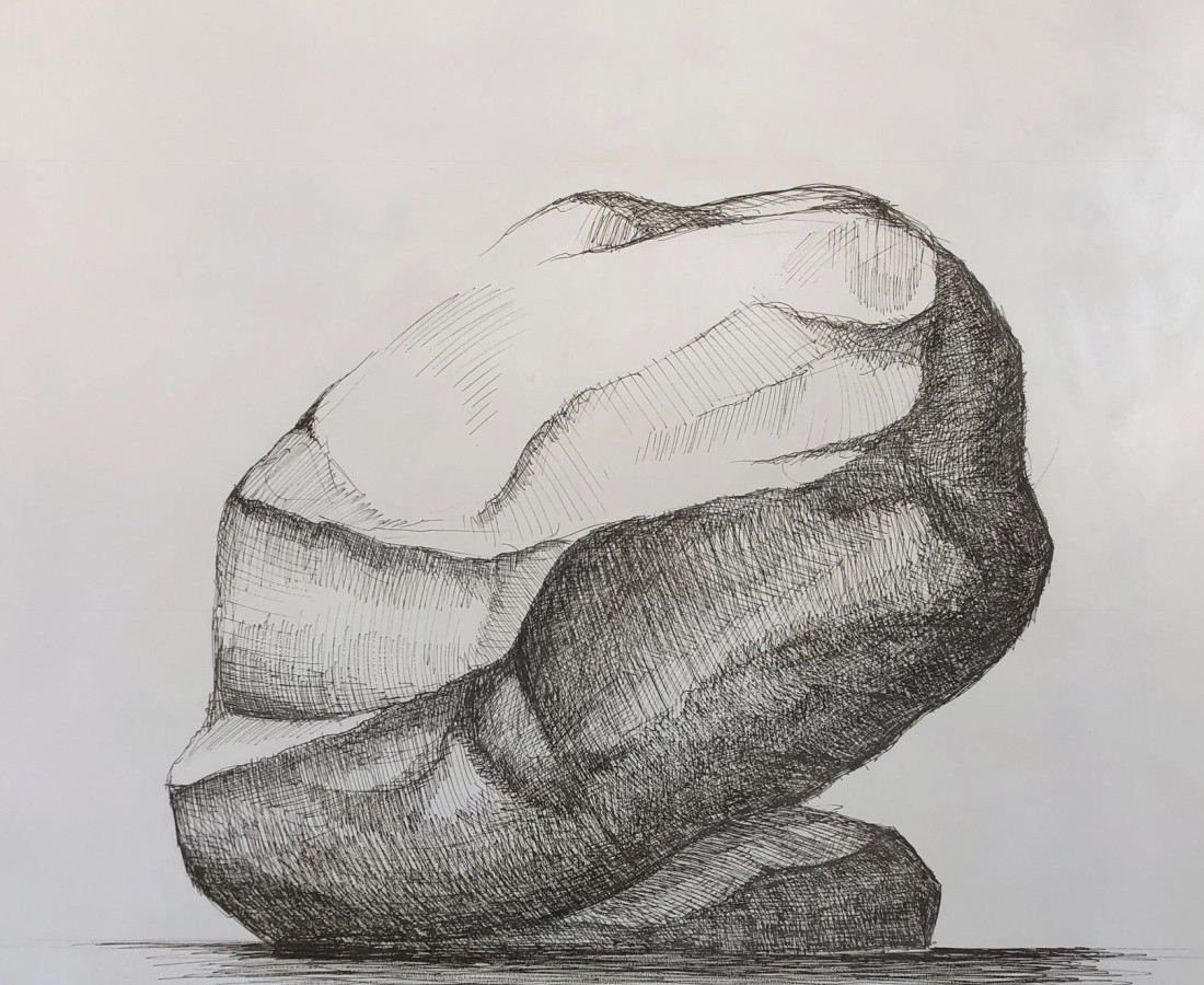 Hoss Haley, Erratic Drawing 5