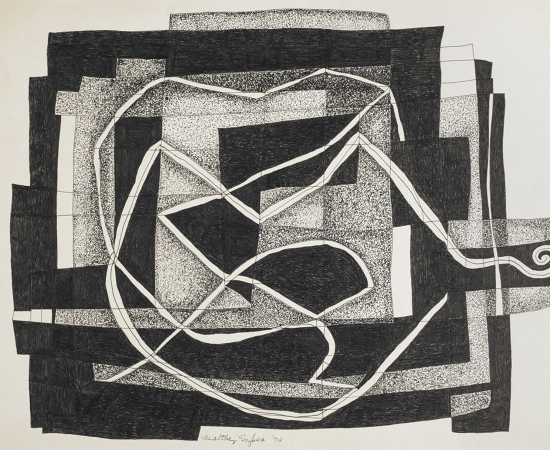 Maltby Sykes (1911 - 1992), Abstract Drawing