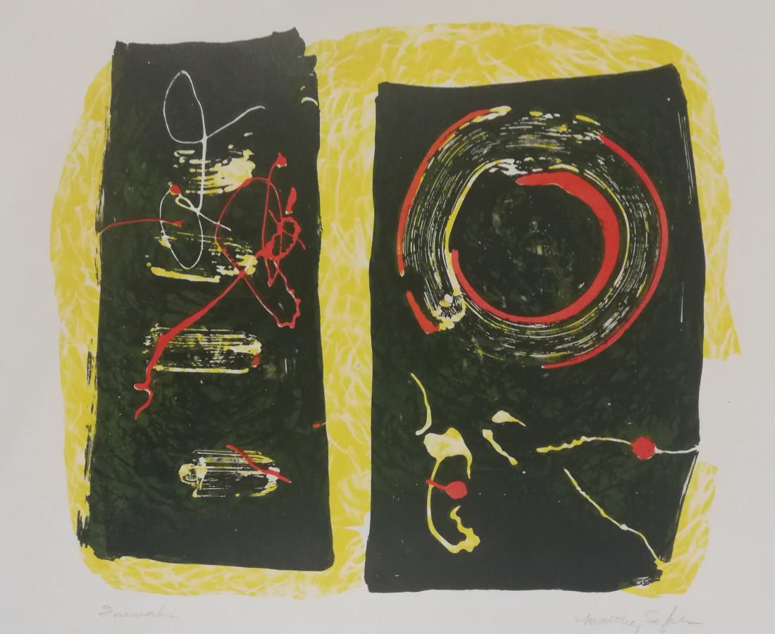 Maltby Sykes (1911 - 1992), Fireworks (framed)