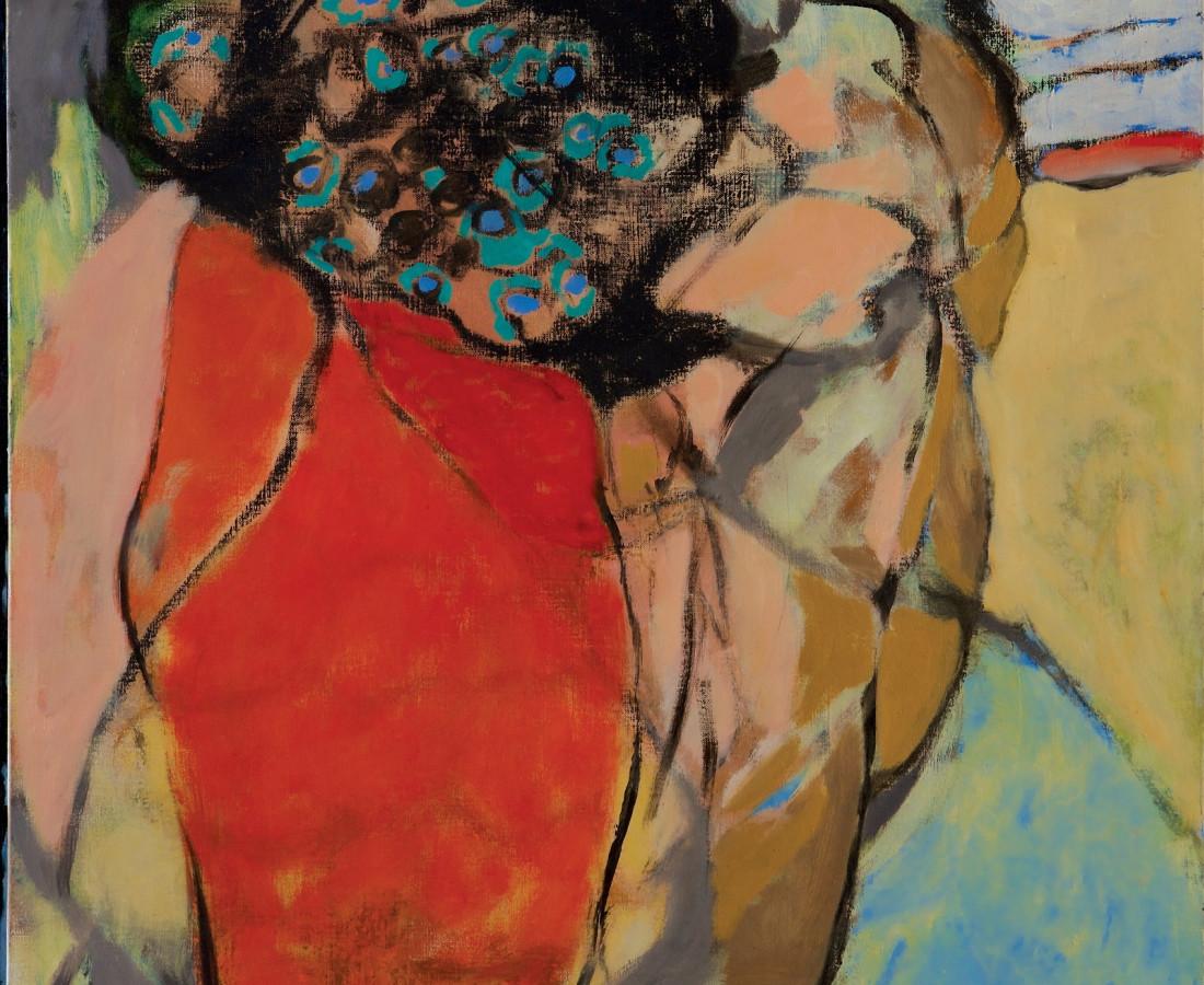 Rashid Al Khalifa, Figurative Landscape I, 1997