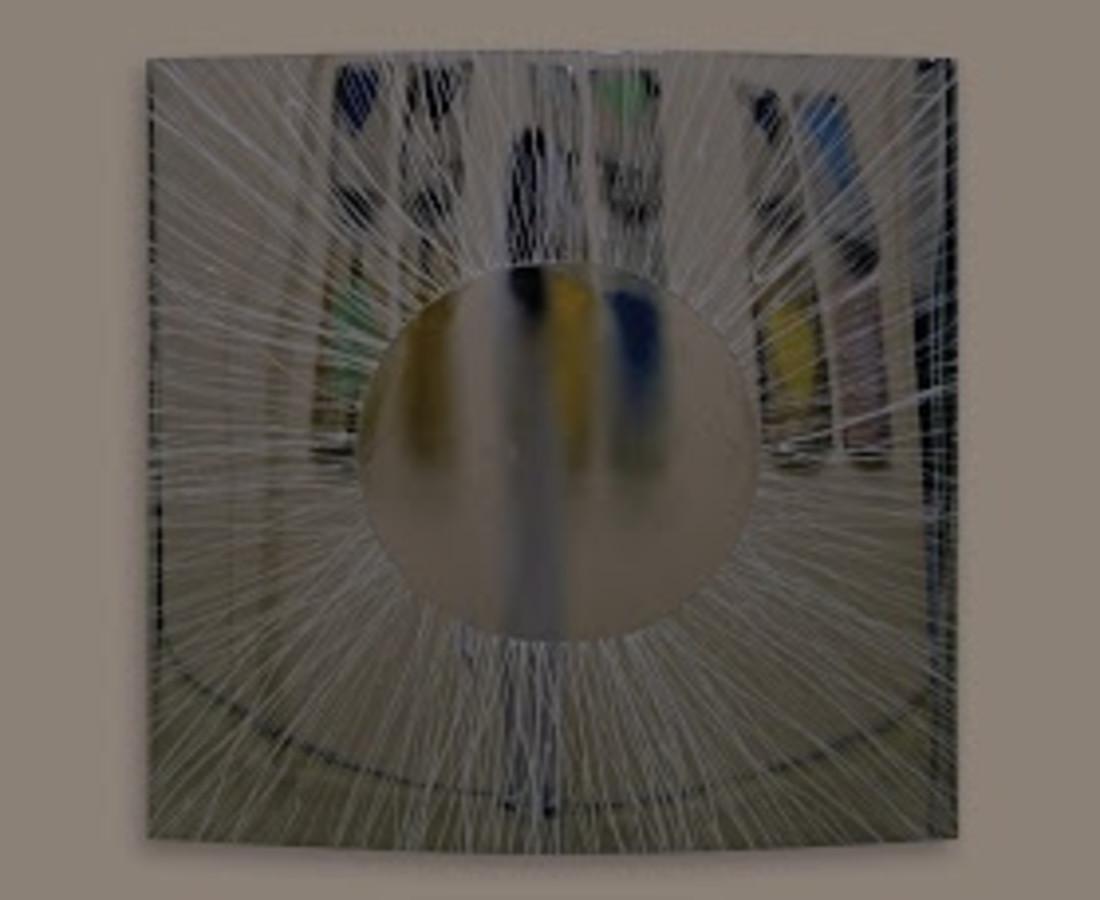 <span class=&#34;artist&#34;><strong>Rashid Al Khalifa</strong></span>, <span class=&#34;title&#34;><em>Black Circle</em>, 2013</span>