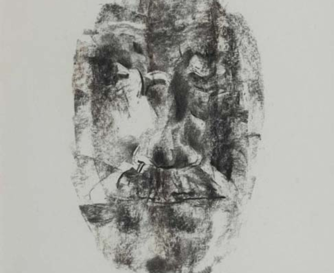 Louis Le Brocquy HRHA, James Joyce Study I, 1977