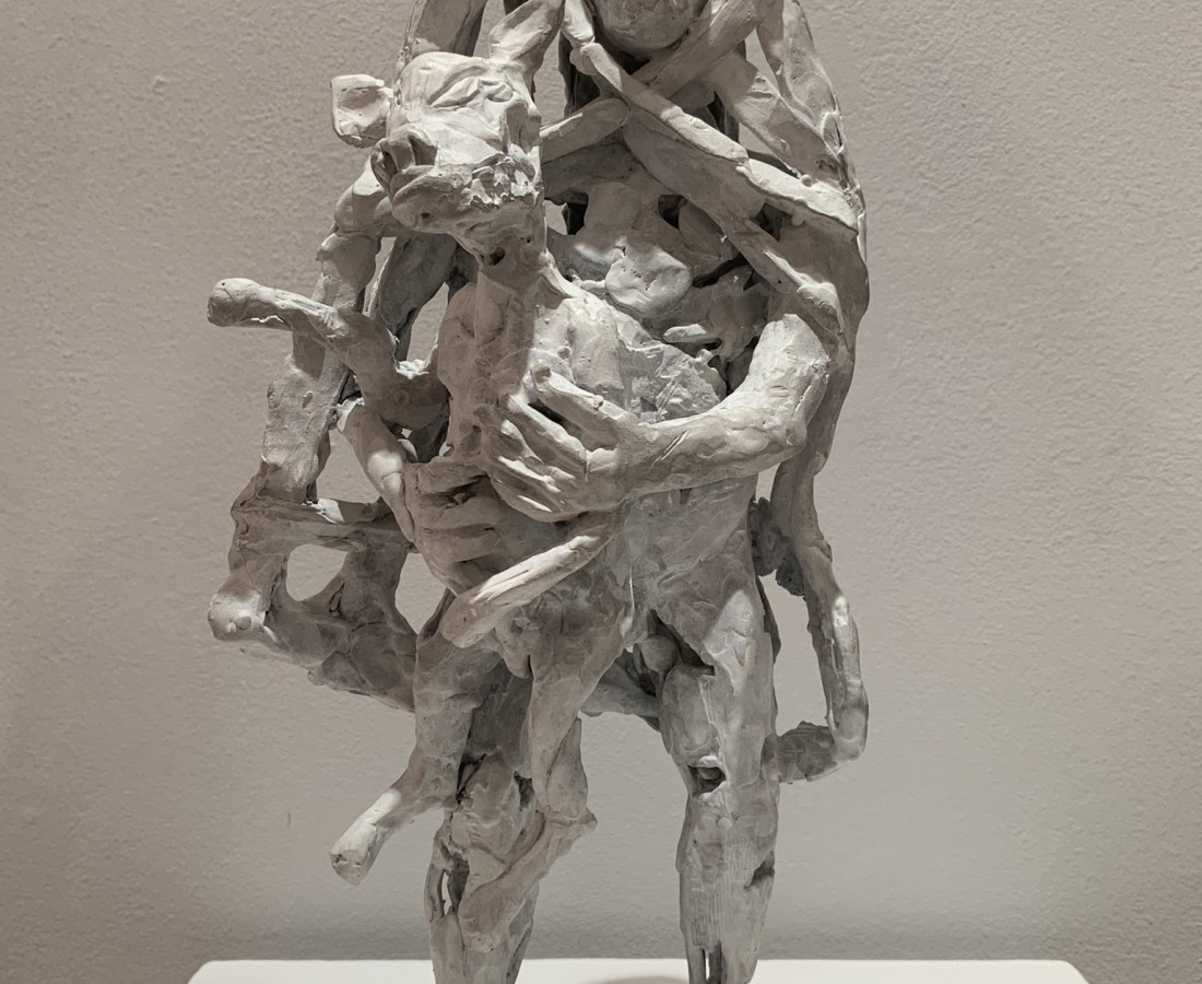 <span class=&#34;artist&#34;><strong>John Behan RHA</strong></span>, <span class=&#34;title&#34;><em>Syrian Shepherd Boy: Migrant 100BC</em>, 2018</span>