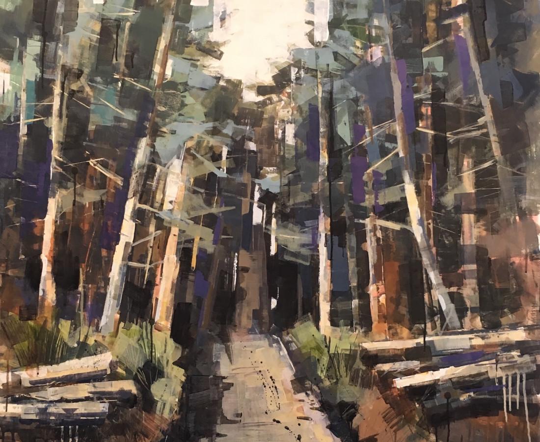 <span class=&#34;artist&#34;><strong>Bridget Flinn</strong></span>, <span class=&#34;title&#34;><em>In to The Forest</em></span>