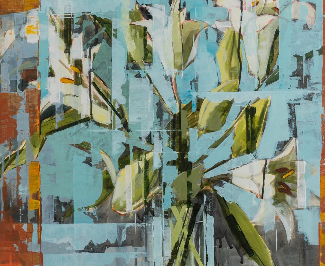 <span class=&#34;artist&#34;><strong>Bridget Flinn</strong></span>, <span class=&#34;title&#34;><em>Easter Lilies</em></span>