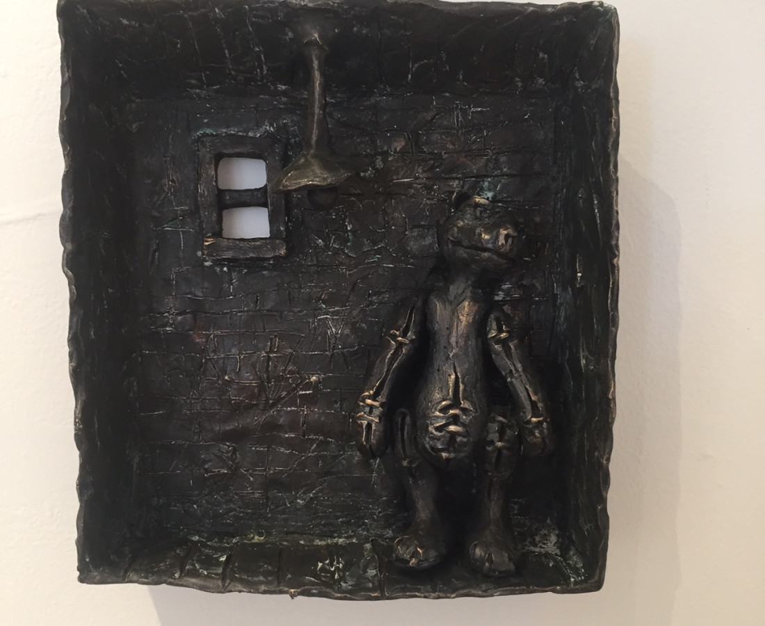 <span class=&#34;artist&#34;><strong>Patrick O'Reilly</strong></span>, <span class=&#34;title&#34;><em>Back against the Wall</em>, 2016</span>