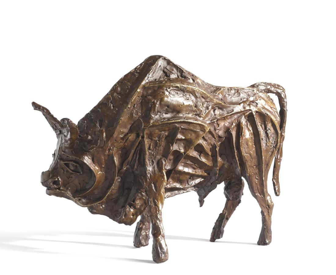<span class=&#34;artist&#34;><strong>John Behan RHA</strong></span>, <span class=&#34;title&#34;><em>Justice (Seven Ages of Bull)</em></span>