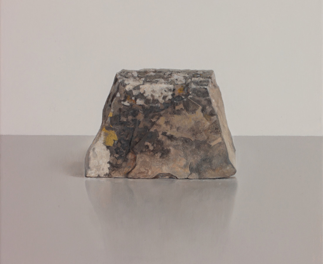 <span class=&#34;artist&#34;><strong>Comhghall Casey</strong></span>, <span class=&#34;title&#34;><em>Rock with Lichen</em></span>