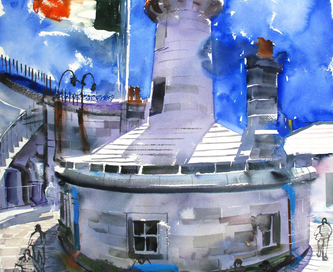 John Short, Lighthouse on East Pier, Dun Laoghaire, County Dublin, Ireland