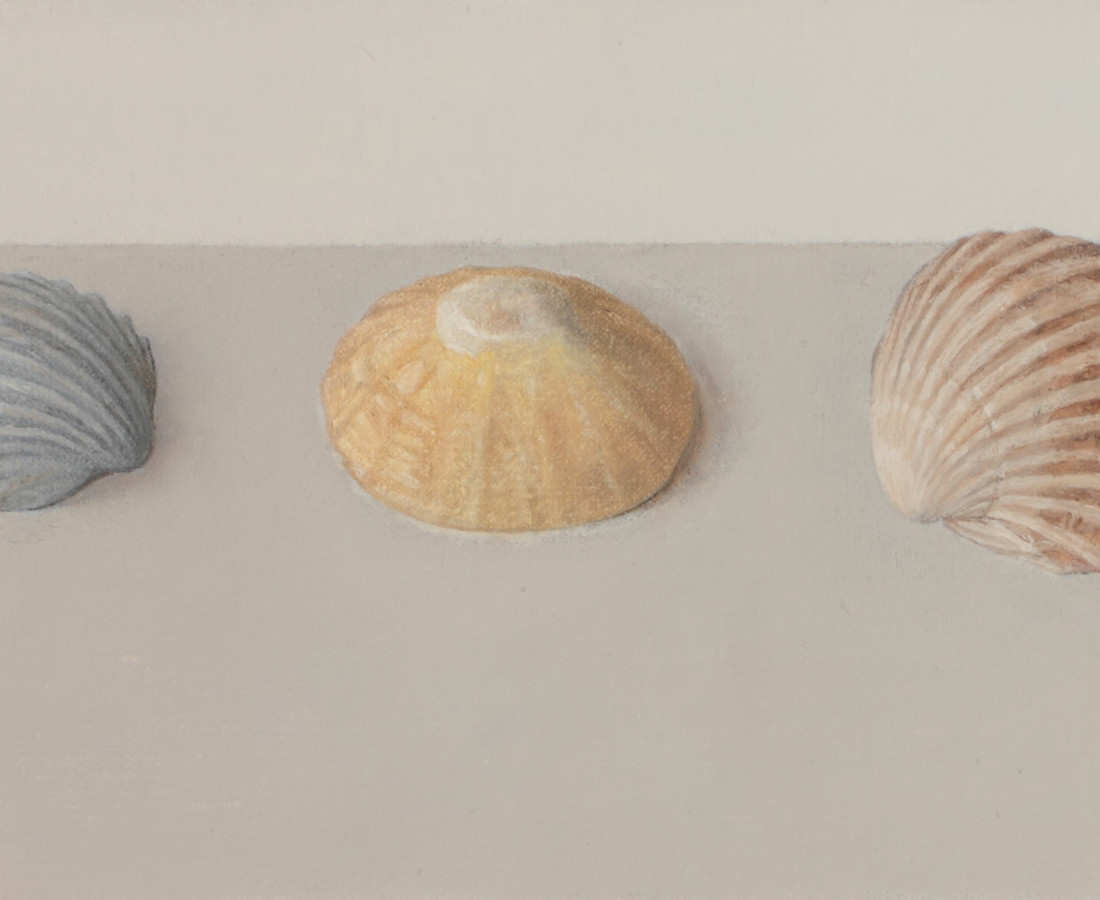 <span class=&#34;artist&#34;><strong>Comhghall Casey</strong></span>, <span class=&#34;title&#34;><em>Three Shells</em></span>