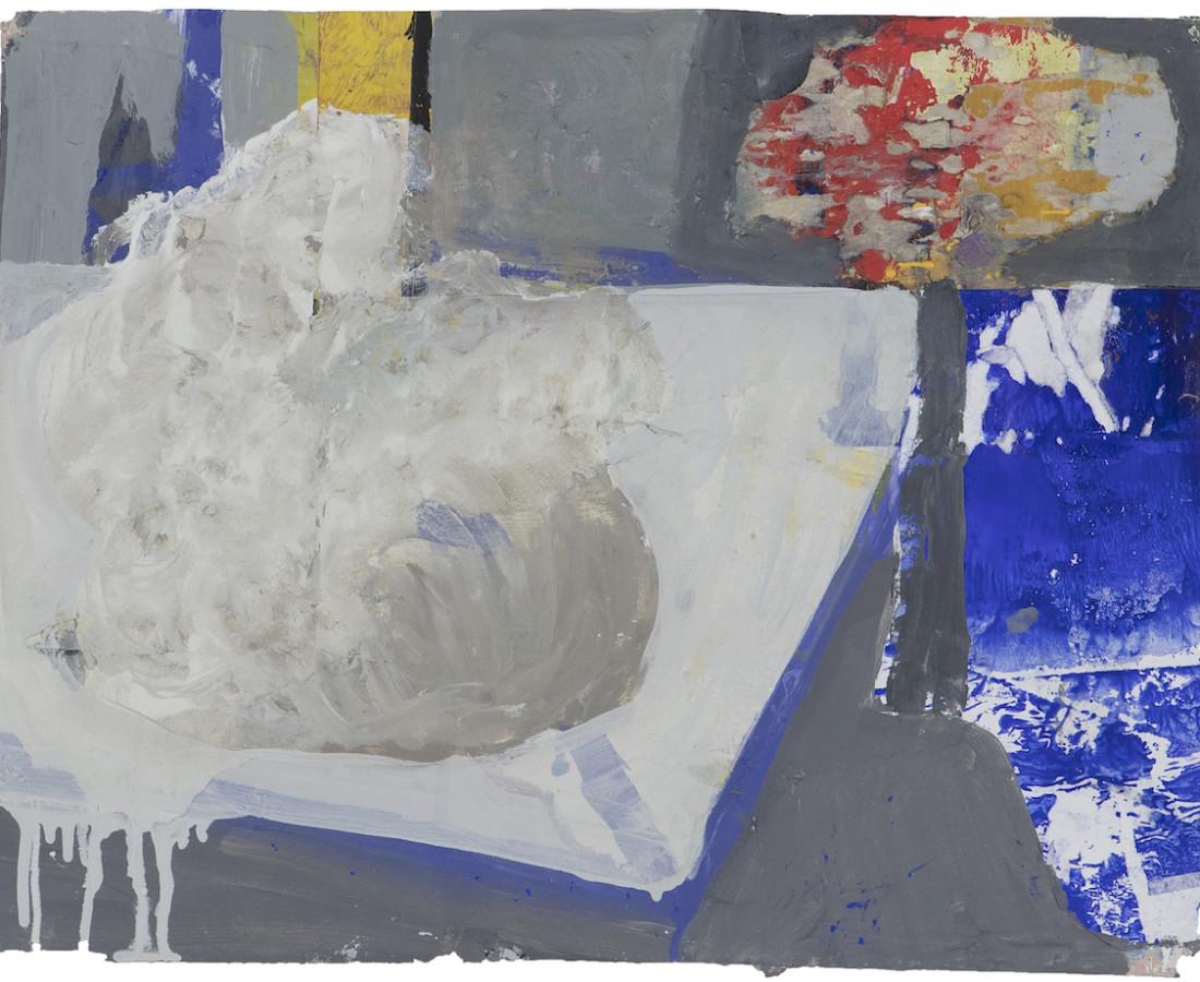 Eamon Colman, The sodden nest of a cold-eyed Thrush