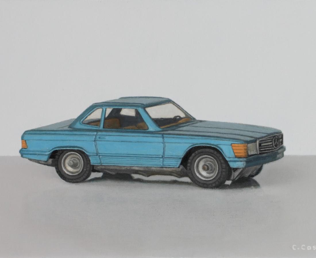 <span class=&#34;artist&#34;><strong>Comhghall Casey</strong></span>, <span class=&#34;title&#34;><em>Toy Car (Mercedes 350 SL CKO 440)</em>, 2018</span>
