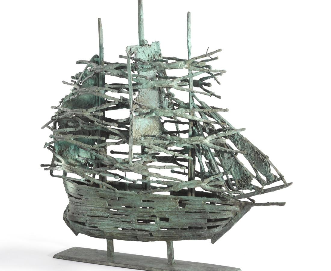 <span class=&#34;artist&#34;><strong>John Behan RHA</strong></span>, <span class=&#34;title&#34;><em>Famine Ship Mayo</em></span>