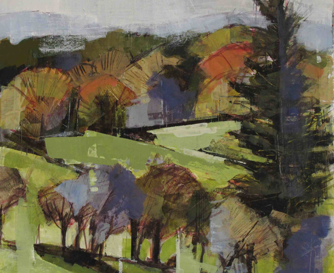 Bridget Flinn, Wicklow Autumn Colour, 2017