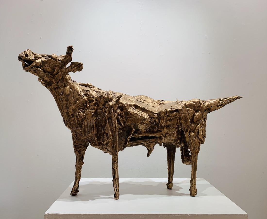 <span class=&#34;artist&#34;><strong>John Behan RHA</strong></span>, <span class=&#34;title&#34;><em>Golden Bull</em></span>