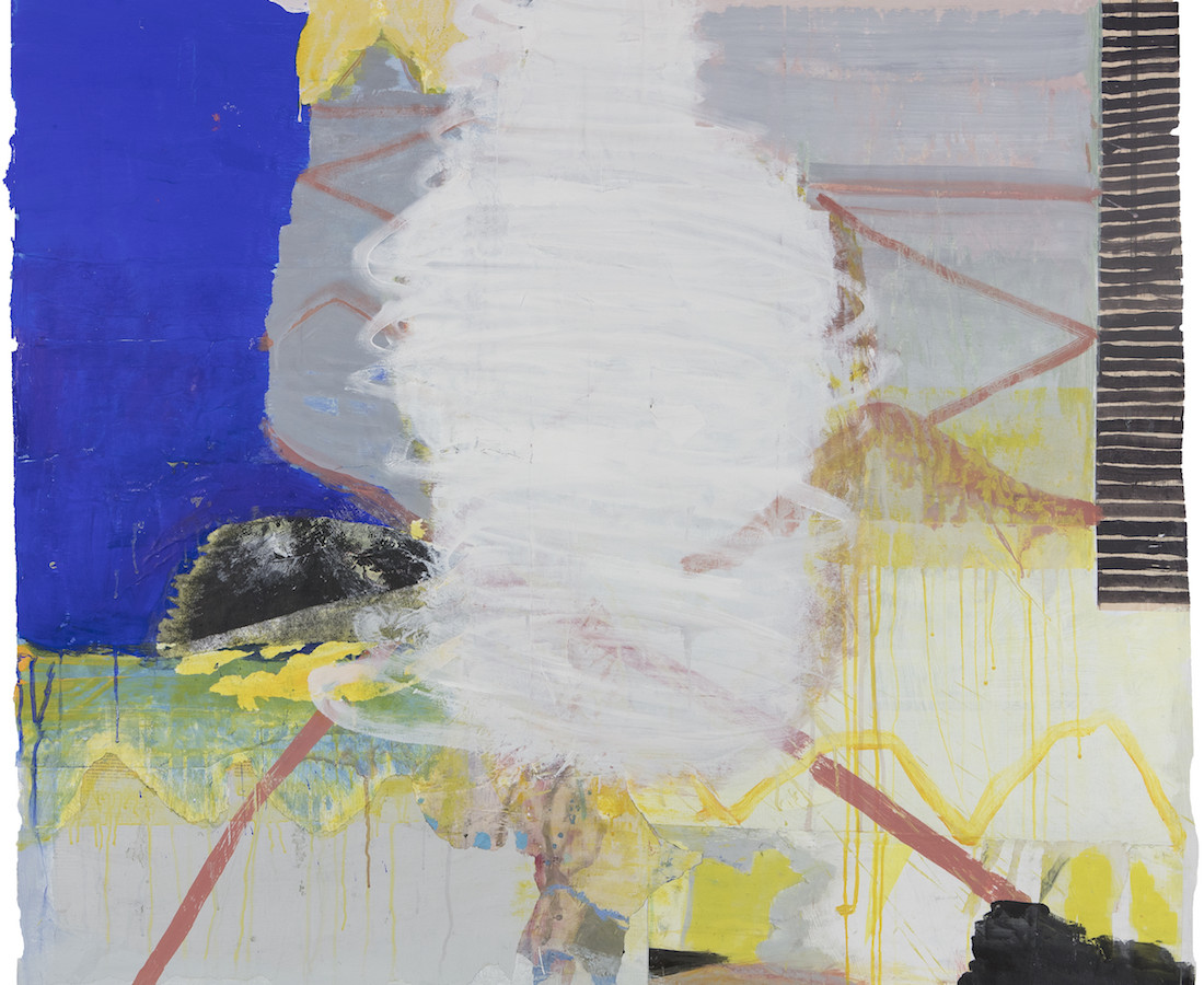 Eamon Colman, Painting for Sonja. The river wall is reached, sudden loneliness and then peace