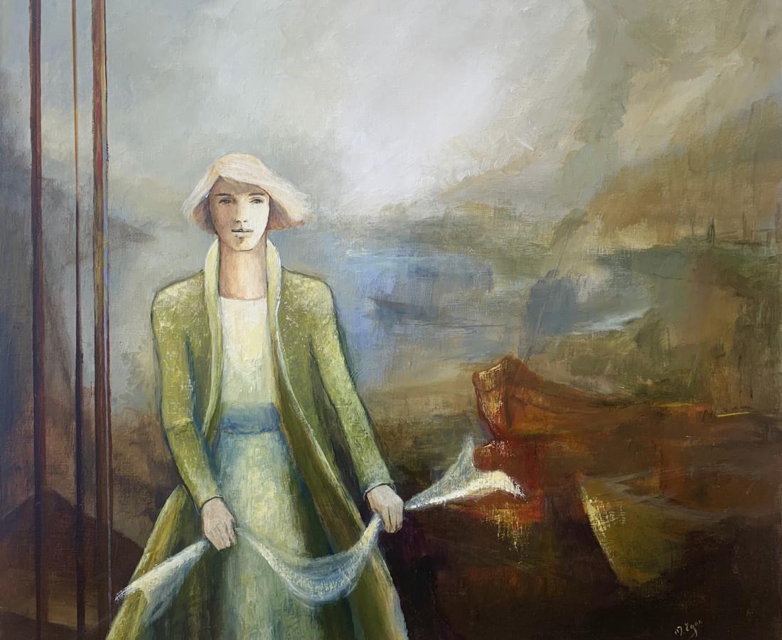Margaret Egan, Wrapped in the Ocean Wind